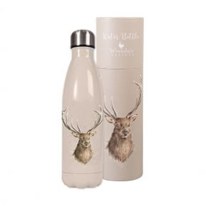 Stag Wrendale Stainless Steel Water Bottle