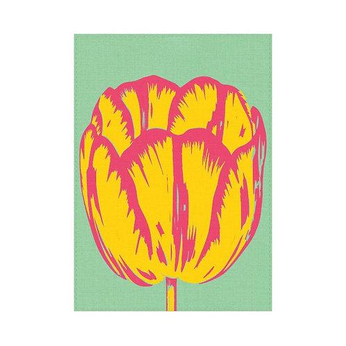 Pop Art Tulip - Tea Towel