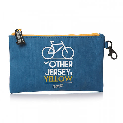 Pouch - Oilcloth, Yellow Jersey