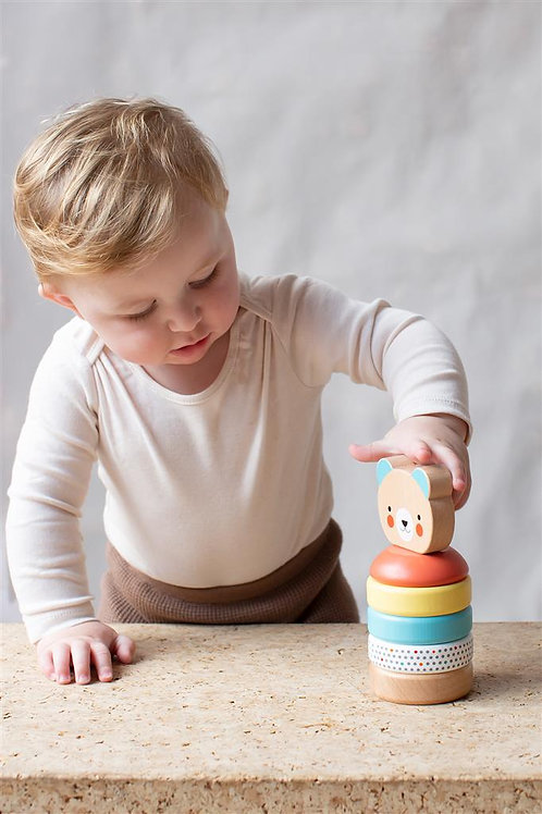 Wooden Bear Stacker (12months+)