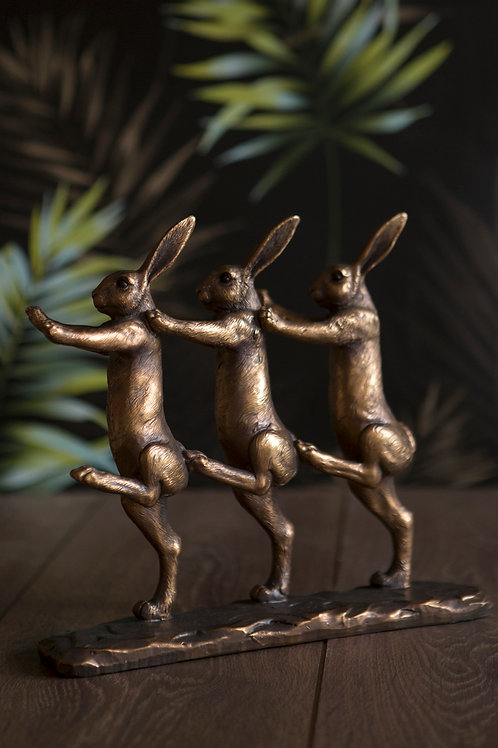 Rabbits Marching