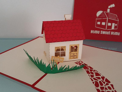 Home Sweet Home Pop Up Card