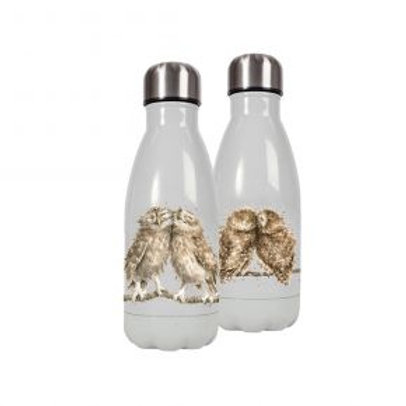 Small Owls Wrendale Stainless Steel Water Bottle