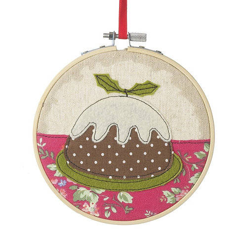 Stitched Decoration Hoop