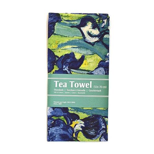 Irisses, Van Gogh - Tea Towel