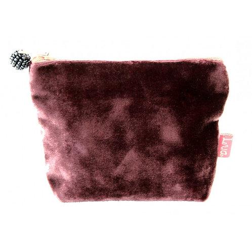 Mini Velvet Purse - Mulberry