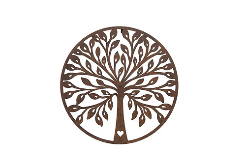 Autumn Tree Plaque A with Heart IN STORE ONLY