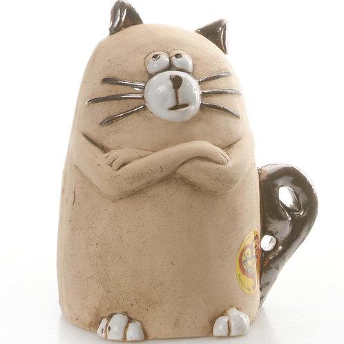 Ceramic Sulking Cat