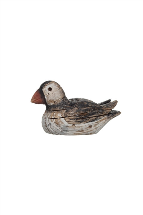 Swimming Driftwood Puffin
