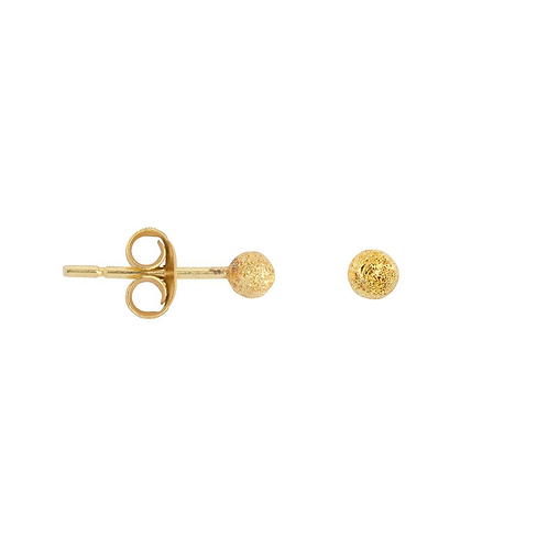 Dot Gold Plated Sterling Silver  Stud
