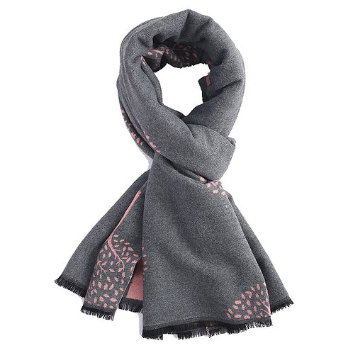 Mulberry Tree Wrap - Grey Pink