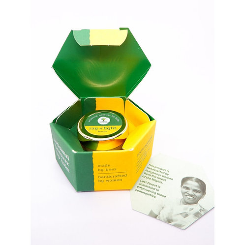 Lemon- Last Forest Beeswax Lip Balm Dew Drop