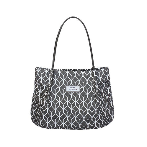Freya Bag -Grey Geometric