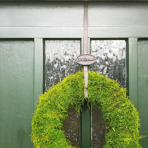 Welcome Door Wreath Hanger