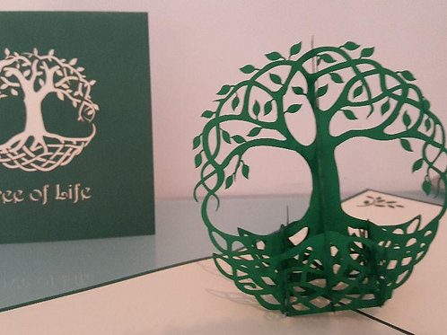 Pop up Card - Tree of Life