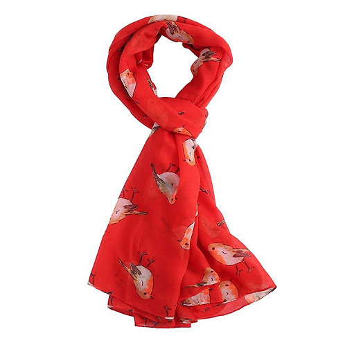 Robin Scarf - Red