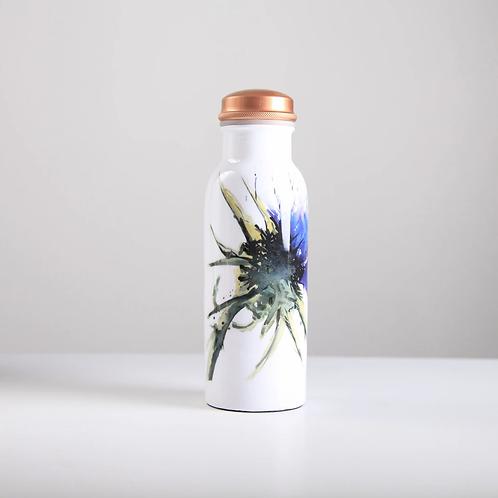 Copper Water Bottle 750ml - Thistle