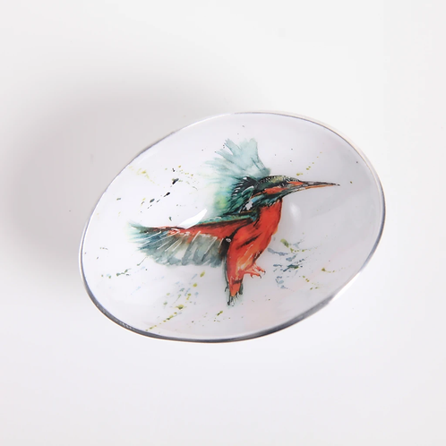 Kingfisher Oval Bowl Small