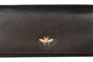 Black Bee Large Purse