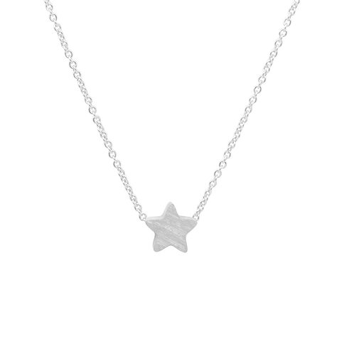 Silver Plated Star Pendant