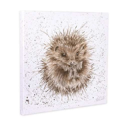 Hedgehog Wrendale Canvas Print