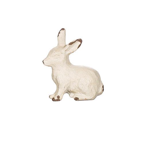 White Rabbit Antique Effect Drawer Knob