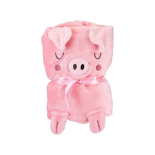 Piglet Soft Fleece Baby Blanket