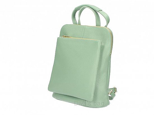 Mint Slim Backpack Crossbody with Large Front Pocket