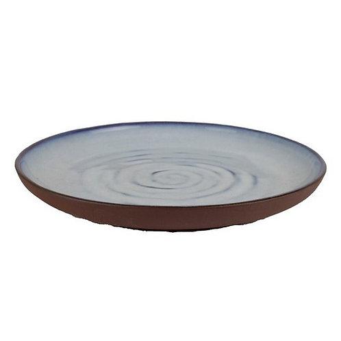 Ice- Ceramic Rustic Platter