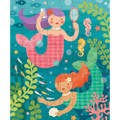 Mermaid Canister Puzzle