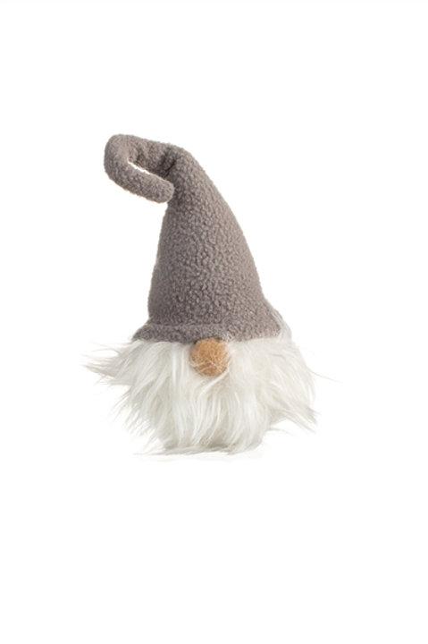 Grey Hat Gnome Hanging Decoration