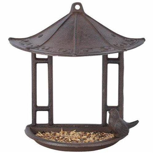 House Wall Hung Cast Iron Bird Feeder