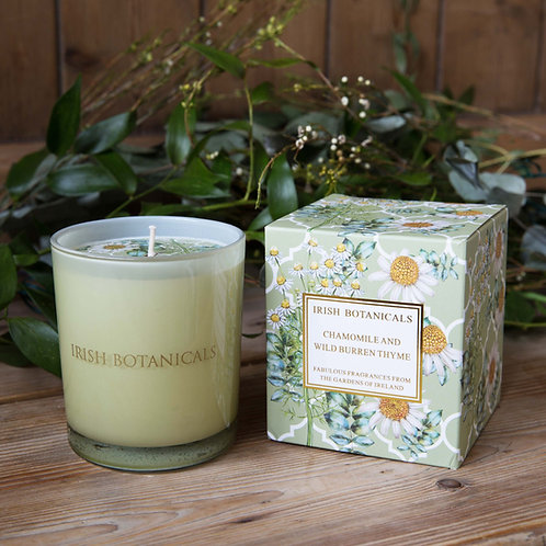 Candle -Chamomile & Wild Burren Thyme
