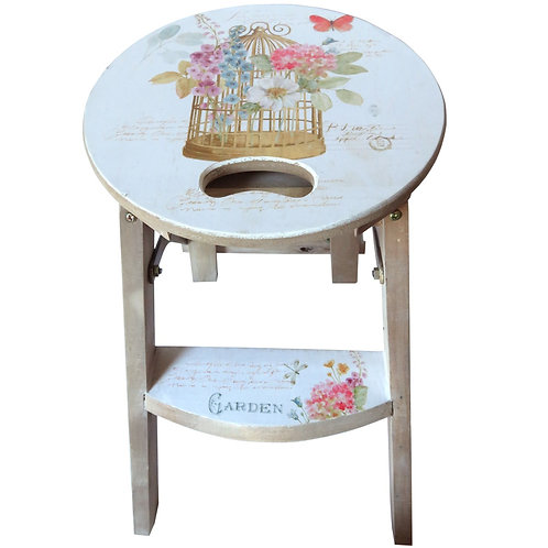 Step stool Birdcage  IN STORE ONLY