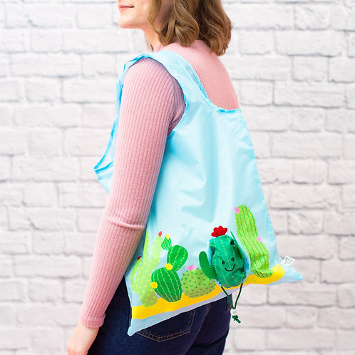 Cactus Foldable Shopping Bag
