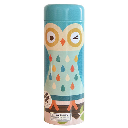 Owl Canister Puzzle
