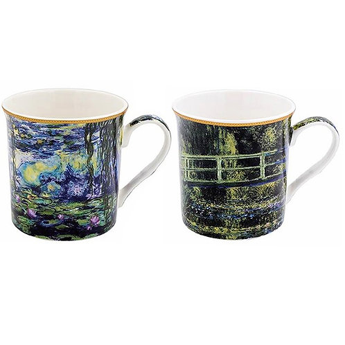Monet Set of Two Boxed Mugs