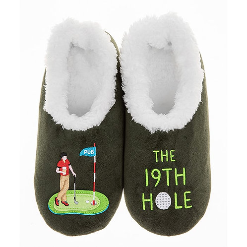 Mens Slippers - Golf - Small