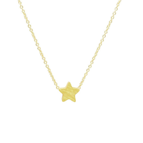Gold Plated Star Pendant