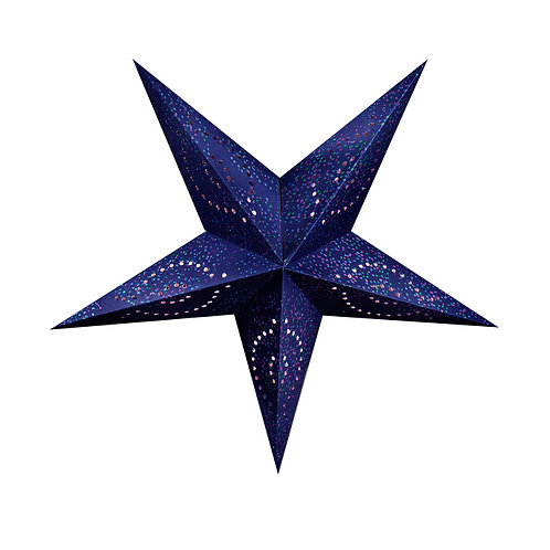 Blue Paper Star