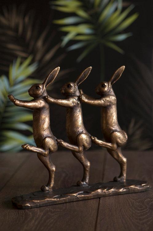 Rabbits Marching