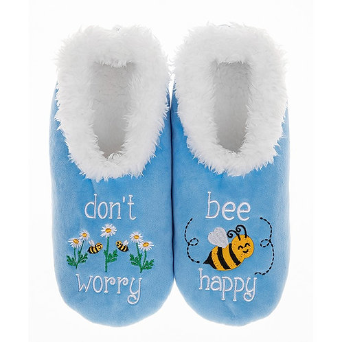 Slippers - Bee Happy - Small