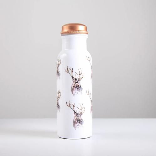Copper Water Bottle 750ml - Stag
