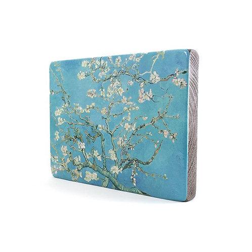 Almond Blossom, Van Gogh-Old Masters Wood block Painting