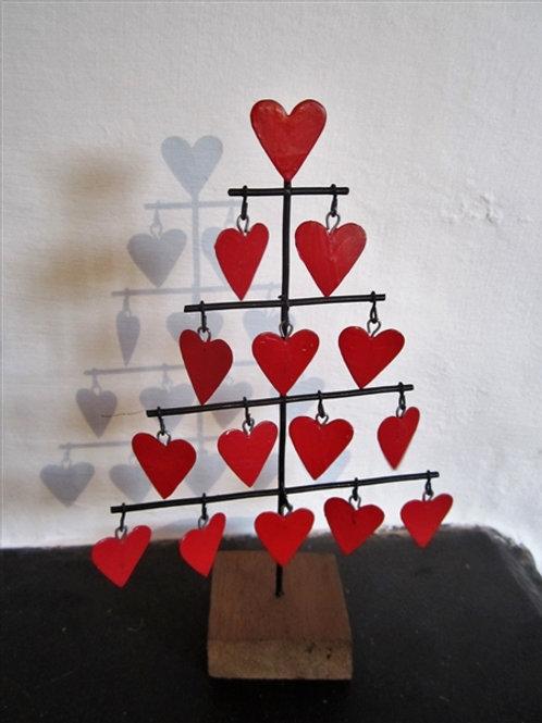 Christmas Heart Tree