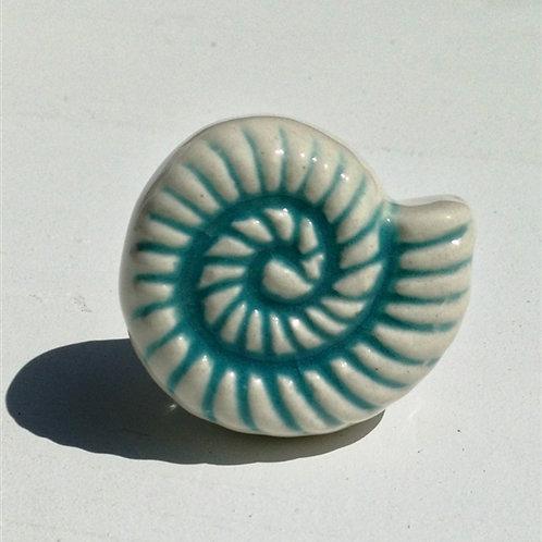Spiral Shell Ceramic Hook
