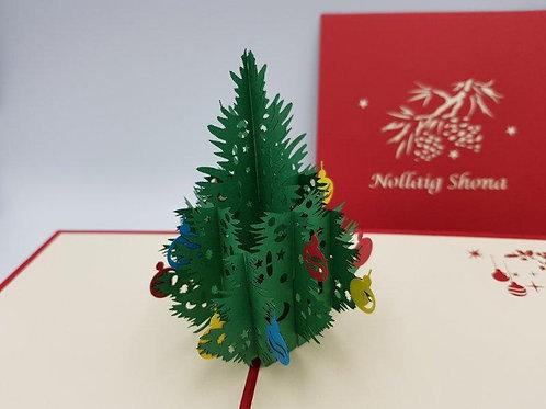 Nollaig Shona Pop Up Christmas Card