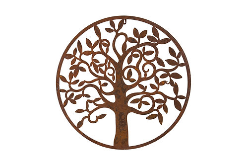 Round Tree Plaque C  IN STORE ONLY