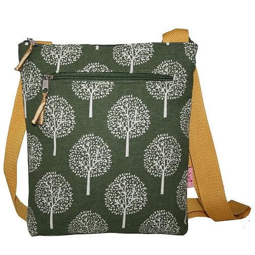 Crossbody Bag - Olive Mulberry