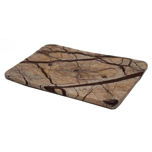 Brown Marble Soap Dish